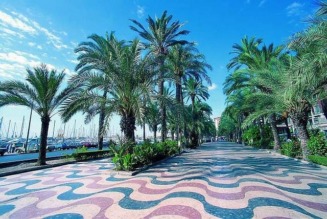 #alicante promenade