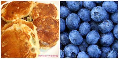 Panqueques de arándanos y panqueques de frambuesas y mascarpone. Quieres sorprender a alguien con un desayuno sano o merienda súper apetecible en un tiempo record? Aquí tienes la receta. Anímate te encantarán . Receta paso a paso. Muy fáciles!  http://recetasysonrisas.blogspot.com.es/2015/08/panqueques-de-arandanos-y-panqueques-de.html  #panqueques #receta #frambuesas #arándanos #mascarpone