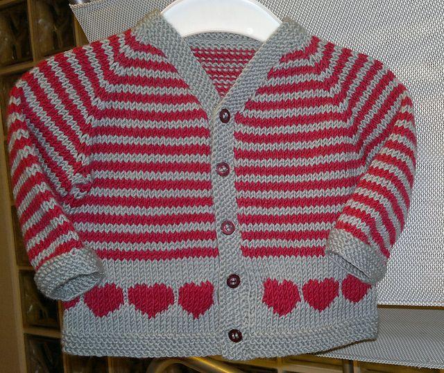 Free Pattern: Red hearts by Filomena Lanzara