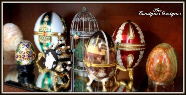 DIY Faberge Eggs. I have done this project with my ex in laws they were from Russia and their eggs always turned out beautiful, although I must admit my eggs did not, as I did not have the patience they had. If you do have the patience to do such a craft this is an excellent introduction to the procedure of making them as it is a very artistic craft...Enjoy!