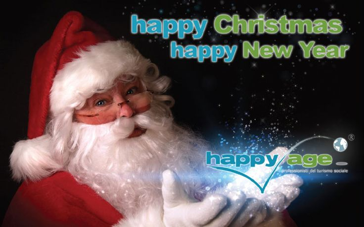 Da tutto lo staff di Happy Age un Felice Natale...anzi, un Happy Christmas!