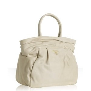 The first Prada bag I ever loved (in dark blush, not ivory). It ...