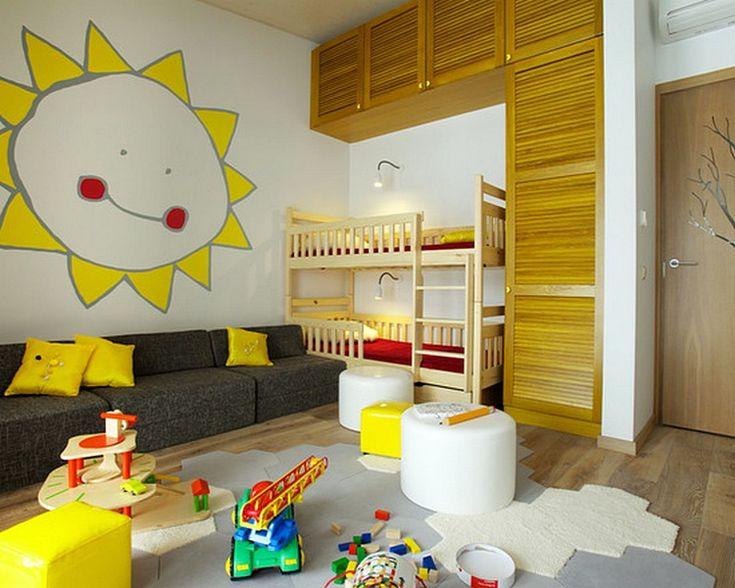 Desain Sofa Unik Ruang Tamu Minimalis Anak Anak