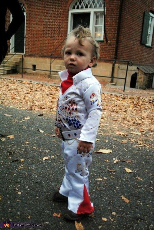Baby Elvis - Halloween Costume Contest