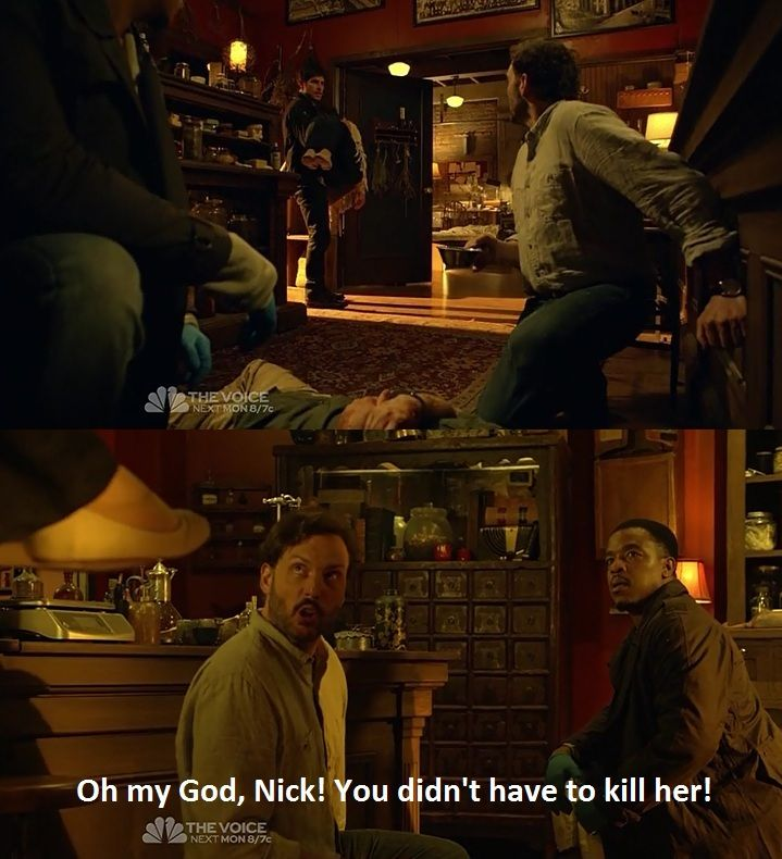 Haha I love this line Monroe from grimm
