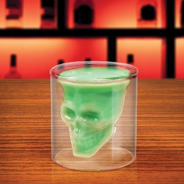 Fred & Friends Doomed Crystal Skull Shot Glass  #quirky #gift #cool #presents #gifts #sale #shopping #cheap #mzube #birthday   https://www.mzube.co.uk