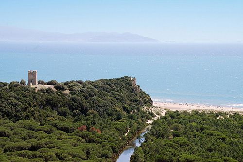 The Natural Regional Park of Maremma, San Rabano abbey ruins, the beach of Alberese and the wonderful sea of #maremma, #tuscany, #italy