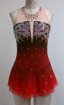 Stoning idea - wedge neckline; necklace; empire waist; 1800 stones Del Arbour Design D88A-Z66