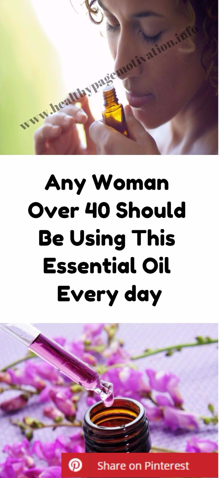 Any Woman Over 40 Should Be Using This Essential Oil Every