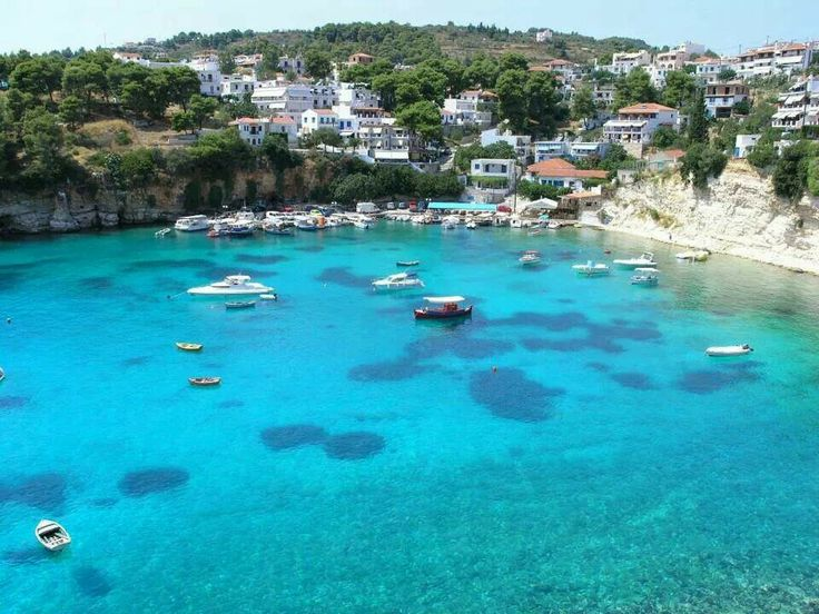 "Only turquoise water in Alonissos... ""Amazing Greece""  I hope to see Greece one day :)"