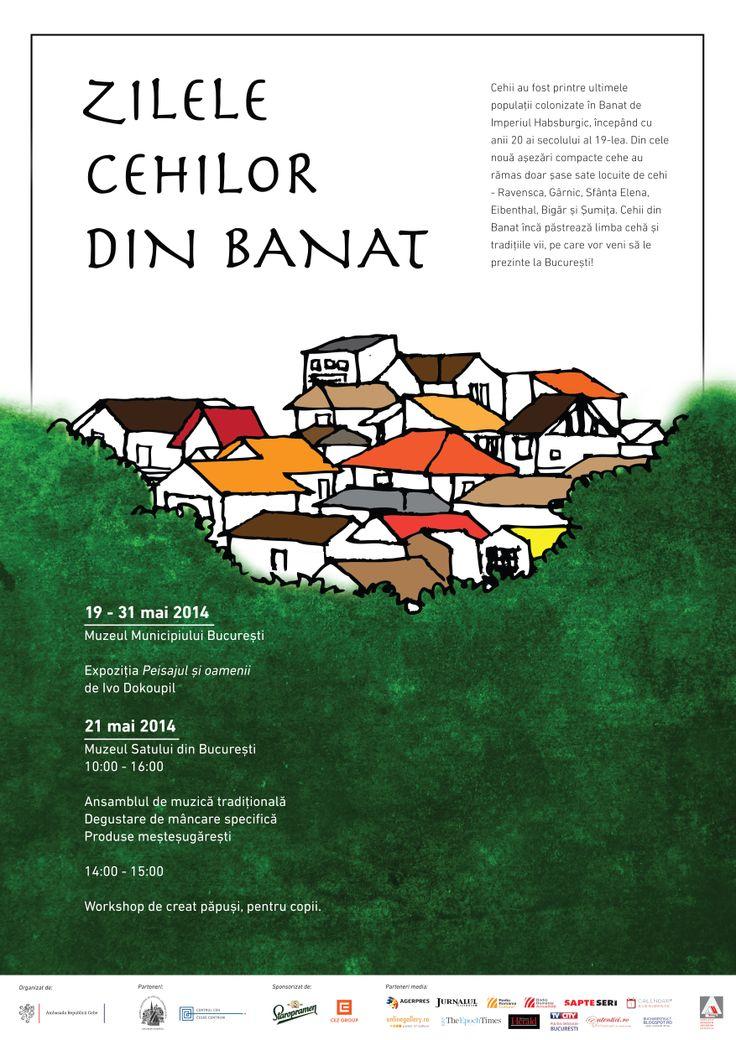 Zilele cehilor din Banat, miercuri, 21 mai 2014, între orele 10.00 -16.00