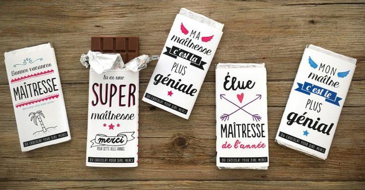 Les 25 meilleures id es de la cat gorie atsem sur pinterest cadeaux maitresse merci maitresse - Emballage tablette chocolat a imprimer gratuit ...
