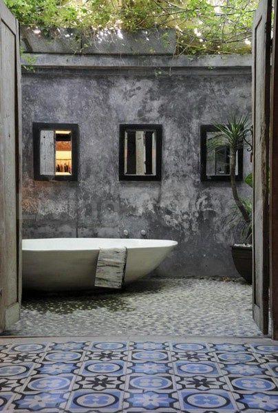 Outdoor bath room #Deluxe
