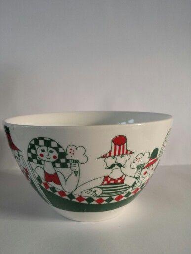 Figgjo Flint Norway Hennig Olsens  bowl 1973