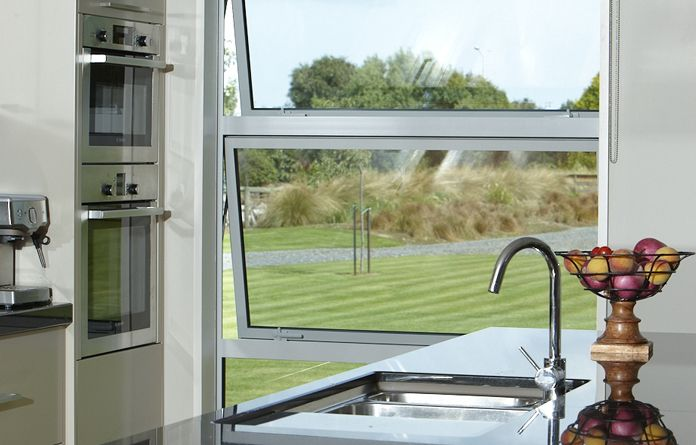 Awning window banks are great for all areas of a home.