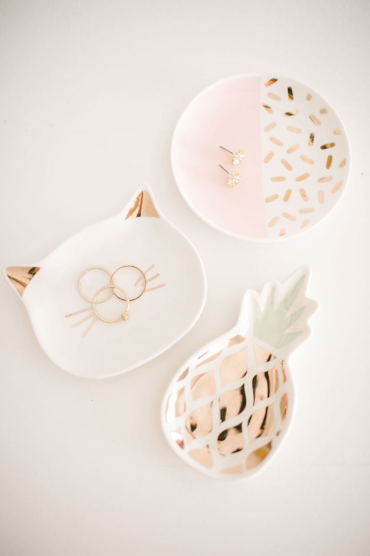 Cute ring dishes