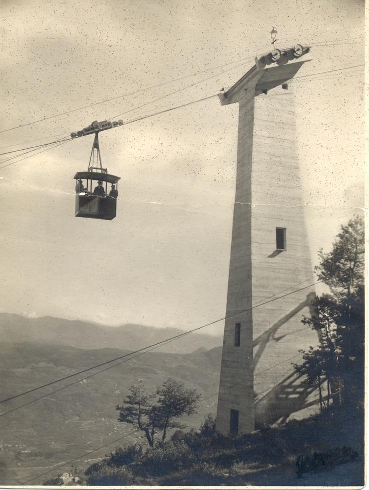 Avveniristico Primo pilone della funivia storica Zambana-Fai della Paganella-Cima Paganella