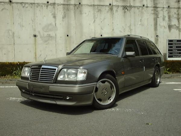 another w124 wagon with amg body kit w124 wagon pinterest. Black Bedroom Furniture Sets. Home Design Ideas
