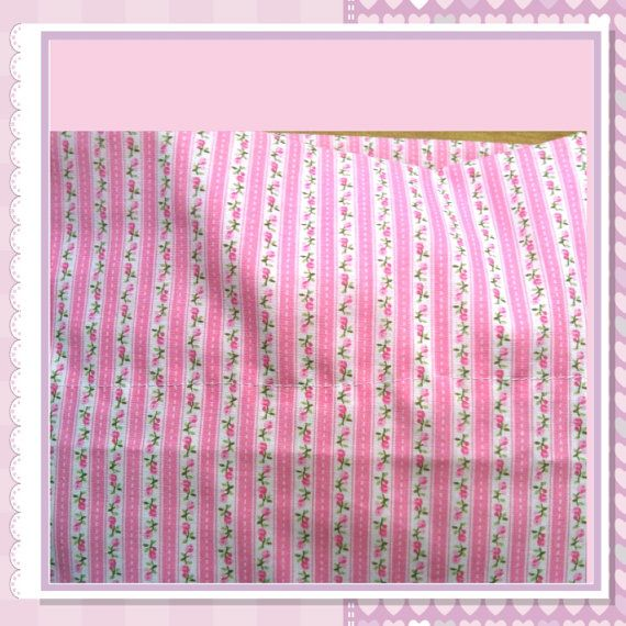 CW Large shabby chic  flower pink pillow case by CWHomeDesign, $9.50