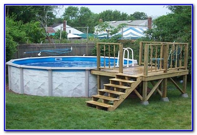 Above Ground Pool Decks Plans Free Pool Deck Plans Above Ground Pool Decks Simple Pool