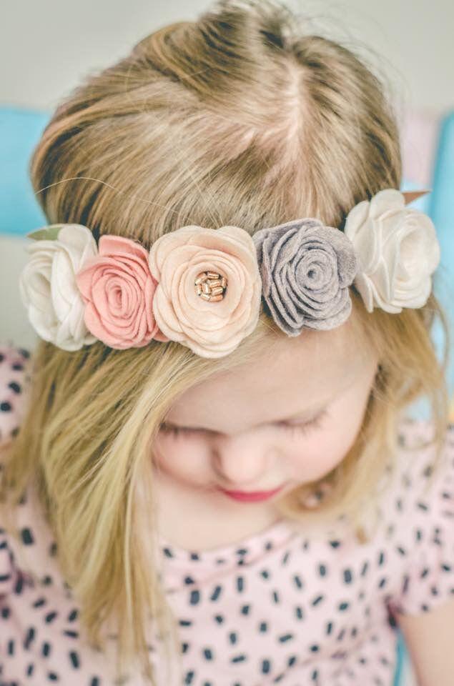 Image of VINTAGE ROSE FLOWER CROWN