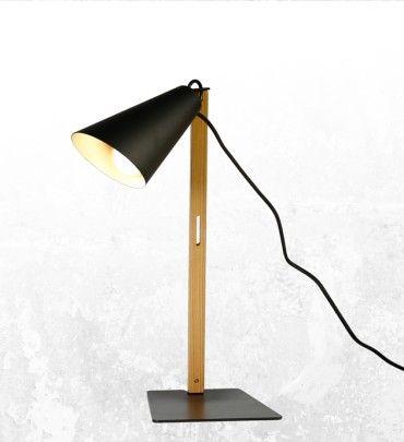 Stolní lampa CAMPANA, černá | claro. - inspirováno přírodou