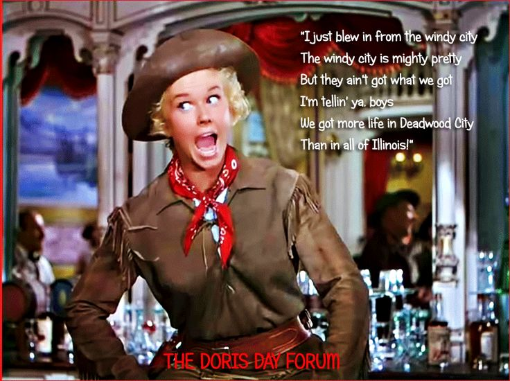 Doris Day Forum - Calamity Jane, 1953