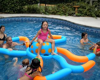 This Inflatable Octopus Was A Big Hit For Kids Of All Ages!