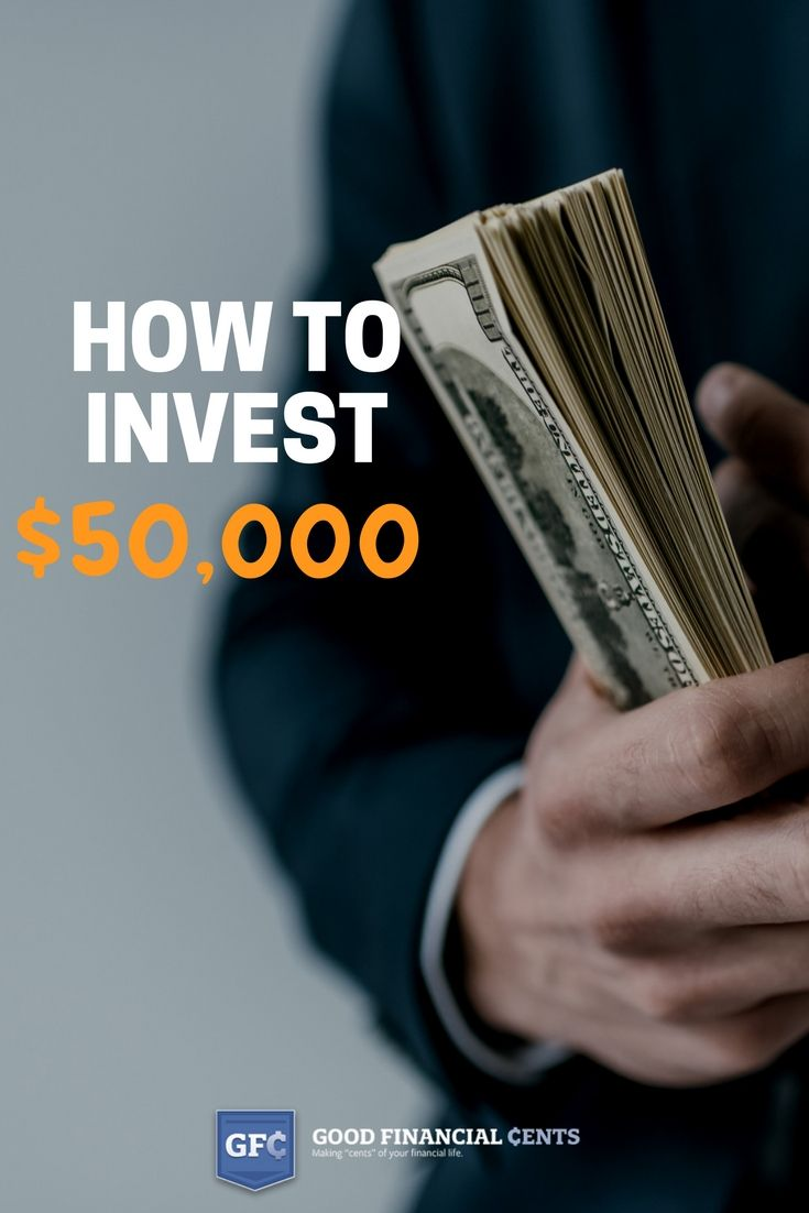 How to Invest $50,000 (without losing your shirt) | Personal finance, Financial planning and ...