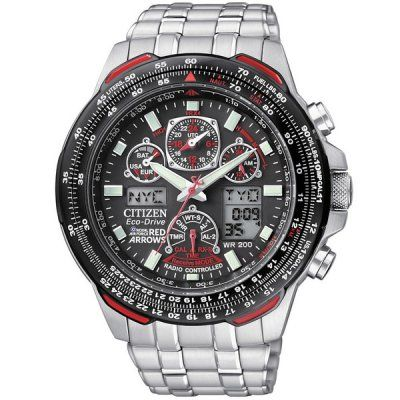 Citizen - Men Skyhawk AT Red Arrows Chrono Eco Drive Watch - JY0100-59E - RRP: £449.00 - Online Price: £381.00