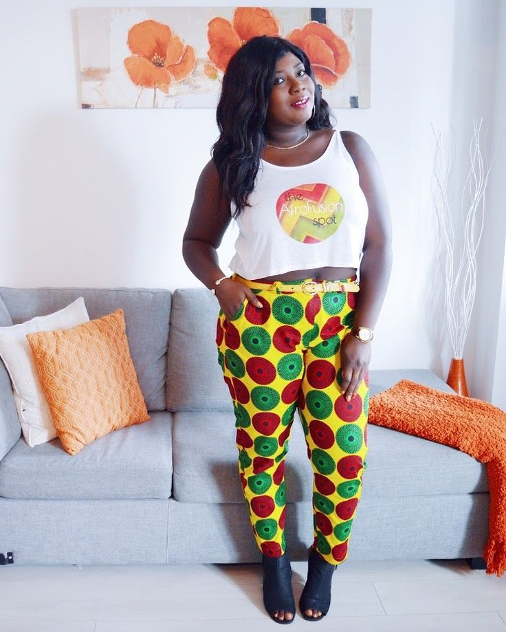 The AfroFusion Spot: Miss G: Summer 17, african fashion, african print, red yellow green, red gold green, ghana, ghana girl, fashion, style, lookbook, miss g, the afrofusion spot, pants, blogger, ootd, pheo couture