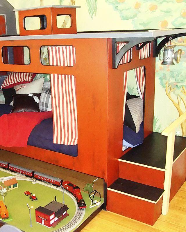 Train Themed Bedroom: 25+ Best Train Bed Trending Ideas On Pinterest
