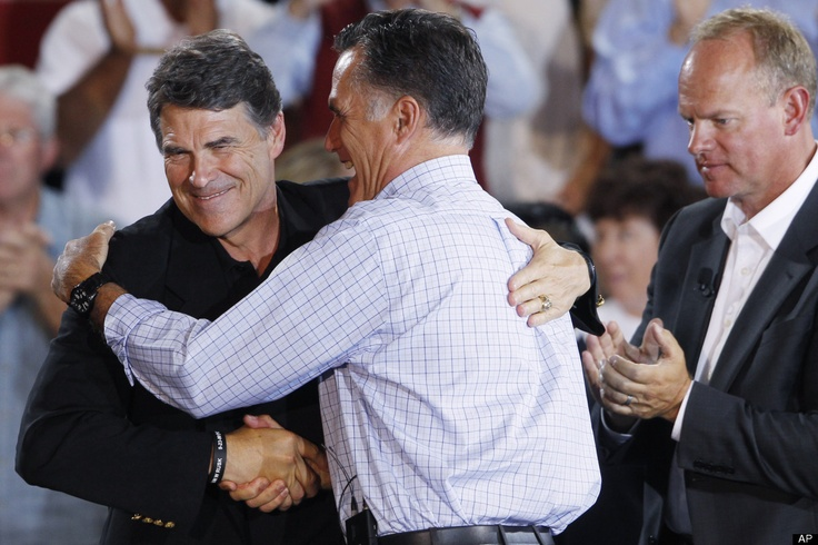 """Oct 2011 - """"Romney Secretly and Illegally Funded Perry - Basically Romney took a huge donation from a Texas millionaire and funneled it into the Perry campaign in order to obfuscate where the huge sum of money was coming from.   This is the equivalent of money laundering in campaign finance.""""     http://www.libertariannews.org/2011/10/01/romney-secretly-and-illegally-funded-perry/  http://www.commieblaster.com/RINO/index.html"""