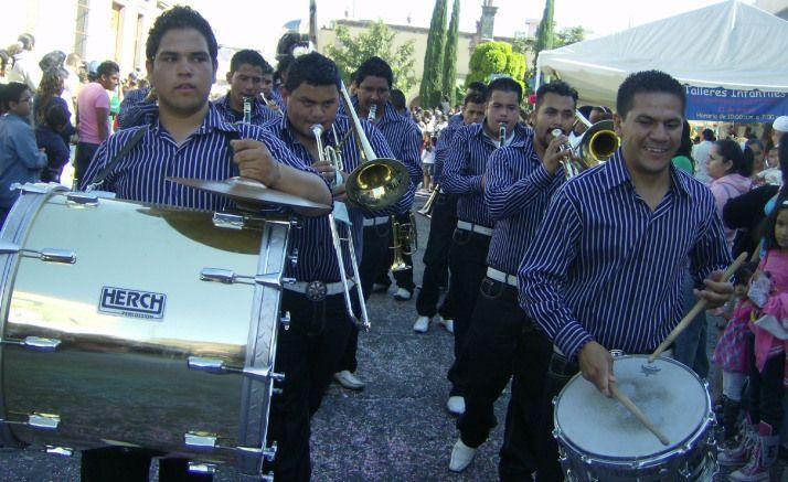 La Piedad. Desfile de primavera 65. Banda de Música de Cañada de Ramírez