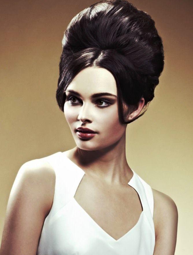 70s hairstyles updo women