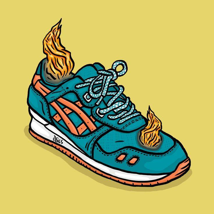 F is for Fire (working on my own projects this one is called the A to Z of Sneaker Culture) Asics Gel Lyte III