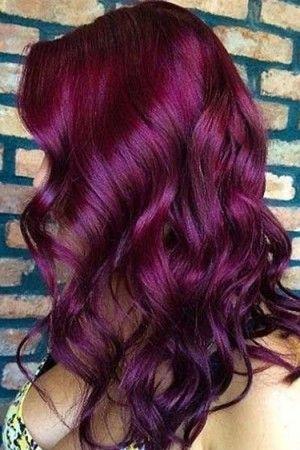 Most Attractive Dark Red Hair Ideas