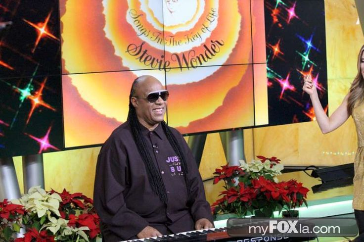 Stevie Wonder To Host 19th Annual House Full Of Toys Benefit Con - Los Angeles News | FOX 11 LA KTTV