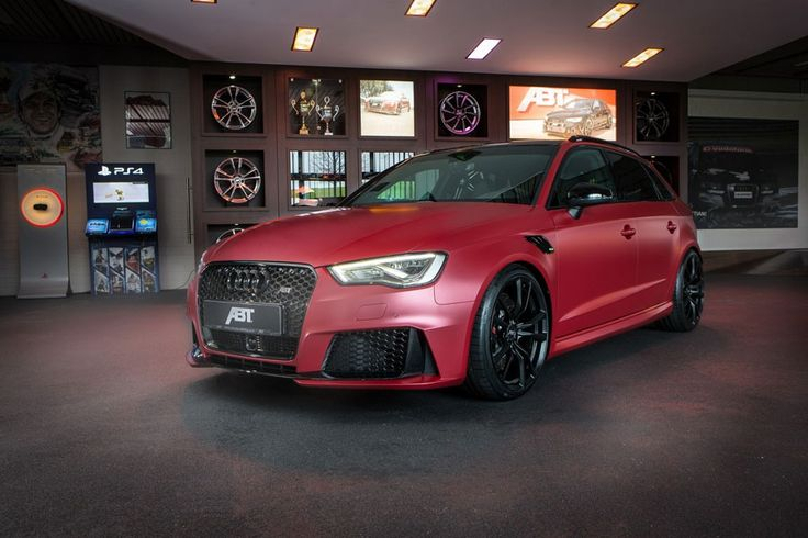 Tuner ABT Audi RS3 Back Modification Engine Front View