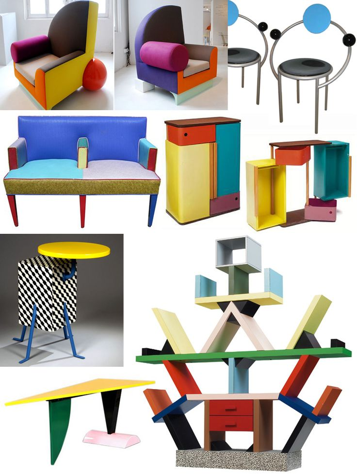 7 best memphis style milano movement images on pinterest for 80s chair design