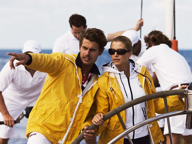 Henri Lloyd for sailing wear (real, useful sailing clothes) not faux cutesy sailing outfits.