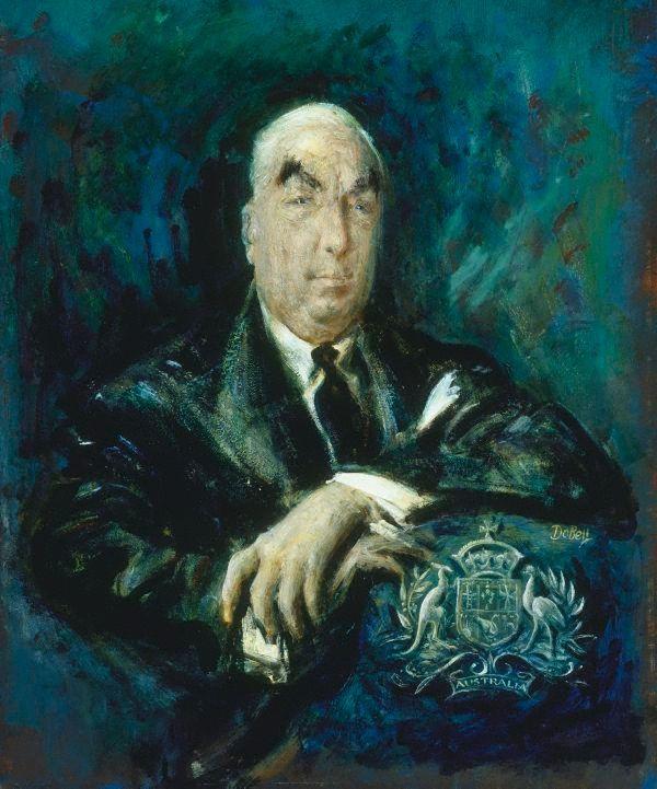 Sir Robert Menzies by William Dobell - 1960