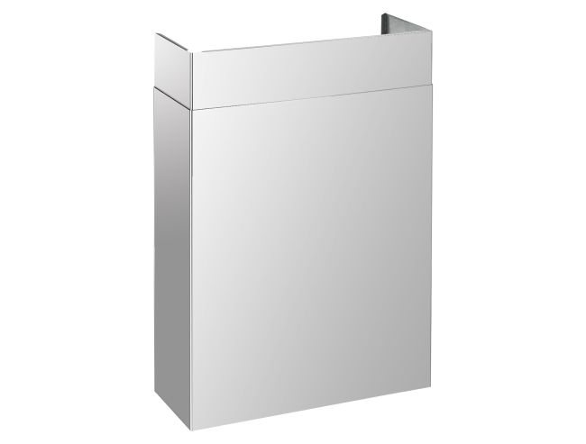 """Full width duct cover, suitable for all PRO 30"""" hoods. Finishing, stainless steel. Tecnogas SUPERIORE"""