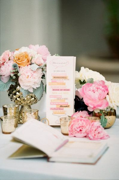 the gold containers i was talking about: Floral Centerpieces, Mercury Glasses, Vase, Guest Books, Wedding Plans, Floral Design, Color, Gold Accent, Flower