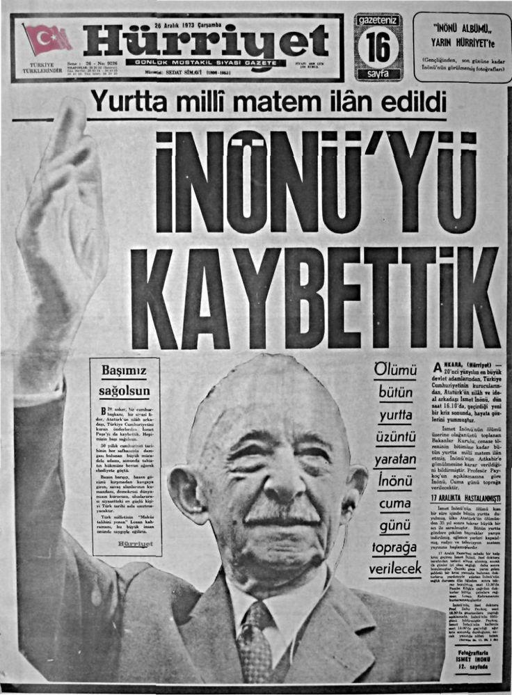 1973-1975 yılı Gazete Manşetleri - Nüve Forum