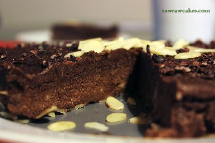 raw banana chocolate cake
