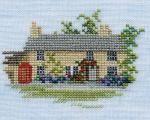 Rose Cottage - Minuets - Cross Stitch Kit from Derwentwater Designs