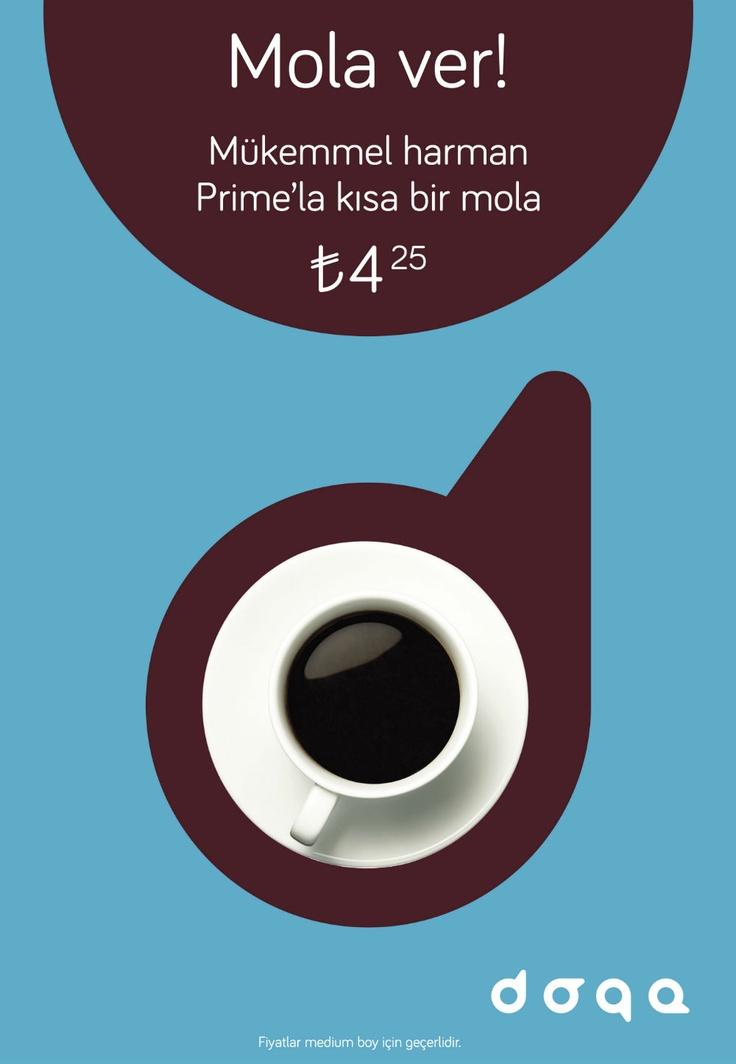 Doqa, Cafe, Coffee, Break, Drink, Kahve, Mola, Taksim, Levent, Milk, Süt, Dessert, Midmorning, Meeting with Friends, Prime