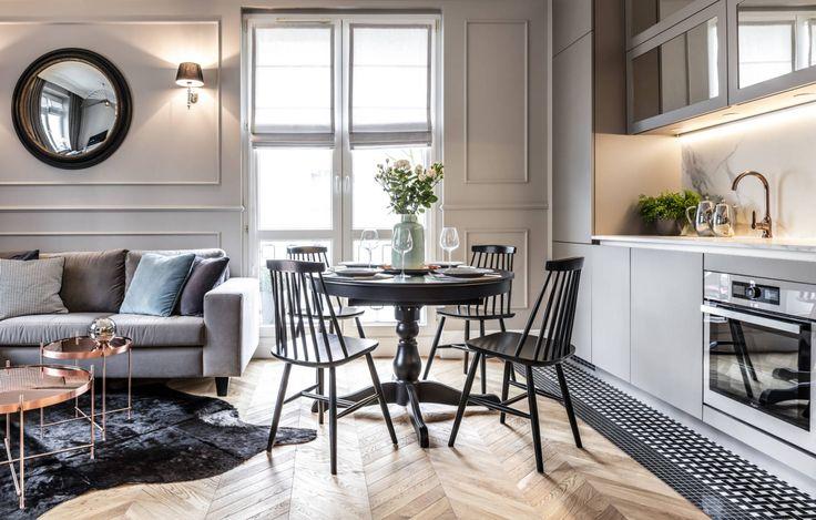 Mieszkanie w kamienicy projek SAS Wnętrza i Kuchnie W tym 36m2 mieszkaniu w Zielonej Górze zastosowano elementy charakterystyczne dla starych kamienic. Architekci chcieli stworzyć wygodną, otwartą przestrzeń. Zostało maksymalnie wykorzystane naturalne światło naturalne poprzez wyburzenie wszystkich ścian działowych, które wcześniej dzieliły mieszkanie. Dzięki temu zabiegowi powstała przestronna przestrzeń kuchnia z salonem sypialnia oddzielona od korytarza …