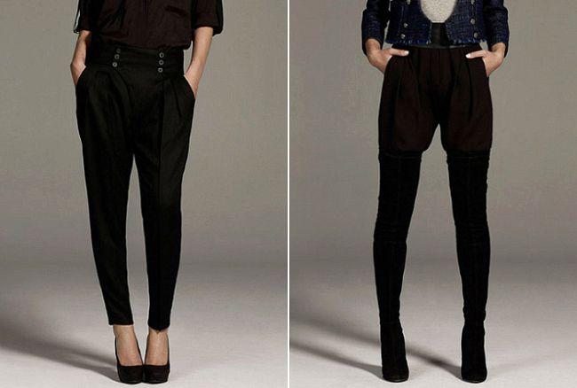 Los pantalones bombachos